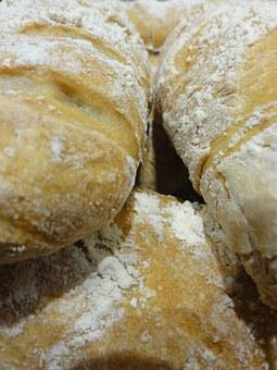 Bread, Stick, French, Flour, Homemade