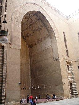 Mosque, Architecture, Stone, Gate, Entrance, Islamic
