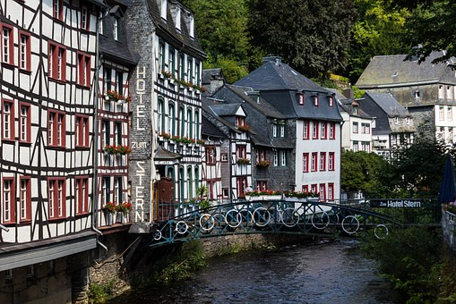 Monschau, Germany, Half-timbered House, Living Space