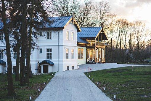 Old, Vintage, Village, Countryside, Villa, House
