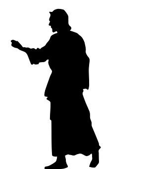 Shadow, Silhouette, Jesus, Evangelical