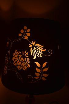 Light, Table Lamp, Designer Lamp, Table, Lamp, Interior