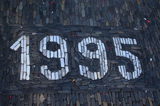 Road, Patch, Paving Stones, Topping, 1995, Year, Date