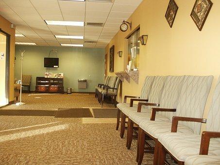 Waiting Room, Anteroom, Doctors, Room, Examining