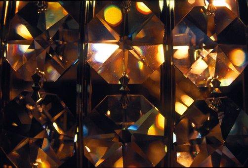 Glass, Crystal, Colorful, Crystal Glass, Light, Shining