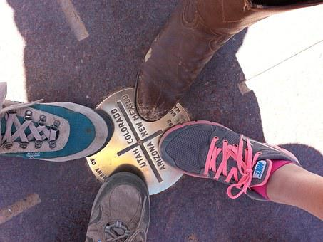 Four Corners, Shoe, Boot, Sneaker, Laces, Shadow