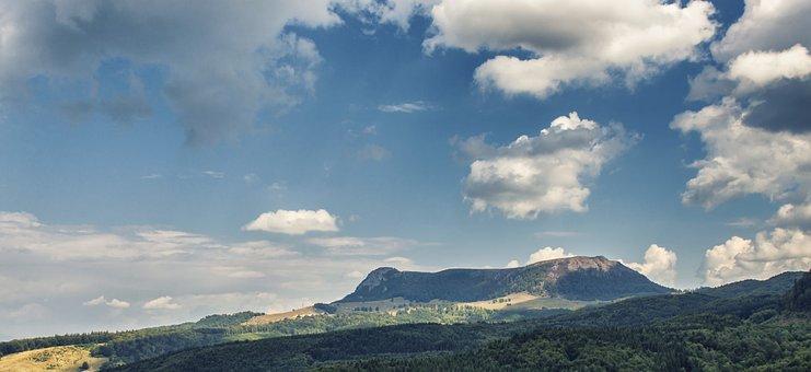 Mountain, Landscape, Nature, Mountain Landscape, Sky