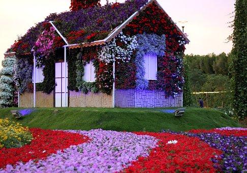 Dubai Miracle Garden, Garden, Uae, Design, Spring