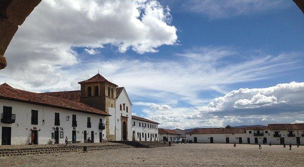Villa De Leyva, Colombia, Historic, Old, South, America
