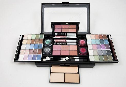 Eyeshadow, Palette, Makeup Kit, Powder, Rouge, Woman