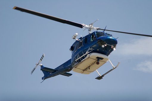 Helicopter, Flying, Aerial, Aircraft, Rescue, Emergency