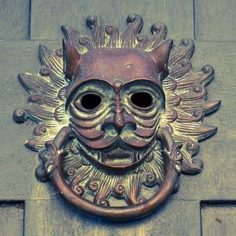 Door Knocker, South Carolina, Charleston, South, Brass