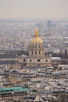 Paris, City, Notre, Damme, Dome, Architecture, Carrion