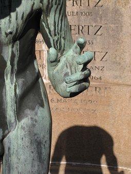 Hand, Cemetery, Death, Figure, Headless, Finger
