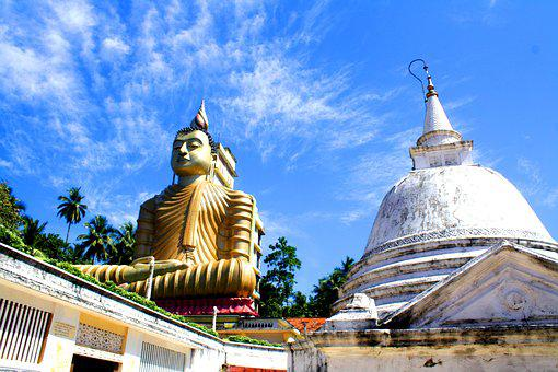 Buddha, Sri Lanka, Statue, Religion, Buddhism, Ceylon