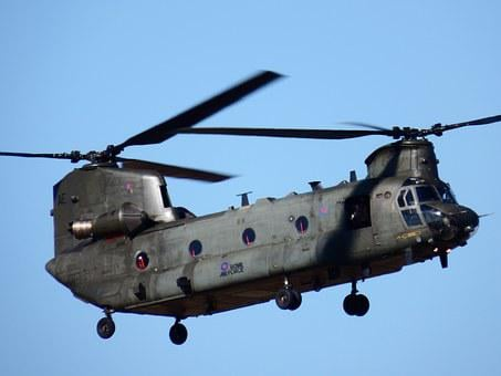 Chinook, Helicopter, Army, Transport, Chopper, Military