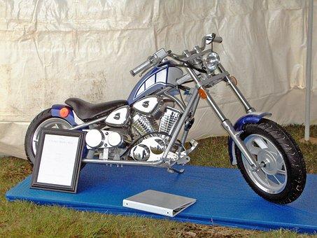 Motorbike, Motorcycle, Chopper, Bike, V-twin