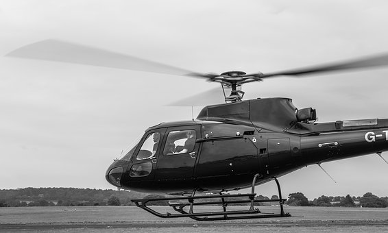 Helicopter, Take Off, Rotor Blades, Chopper, Landing