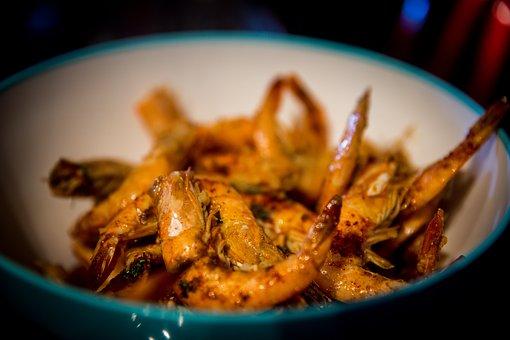 Shrimp, Cooked Shrimp, Food, Seafood, Appetizer, Cooked