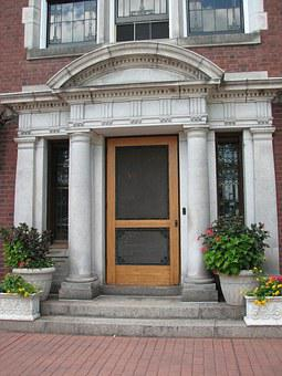 Glensheen, Minnesota, Duluth, Door, Entry, Historic
