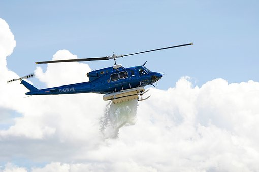 Helicopter, Flying, Rescue, Emergency, Fire Fighting