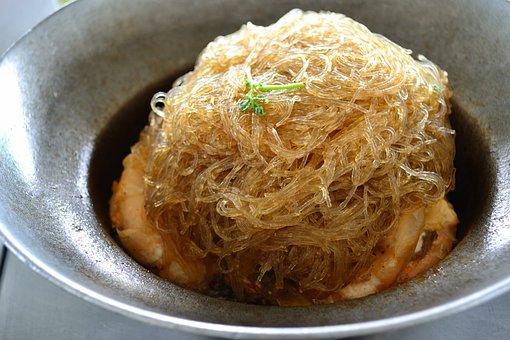 Shrimp Vermicelli, Food, Shrimp, Foodstuff, Dish
