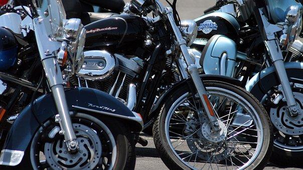 Harley, Bikes, Motor, Motorbike, Motorcycle, Transport