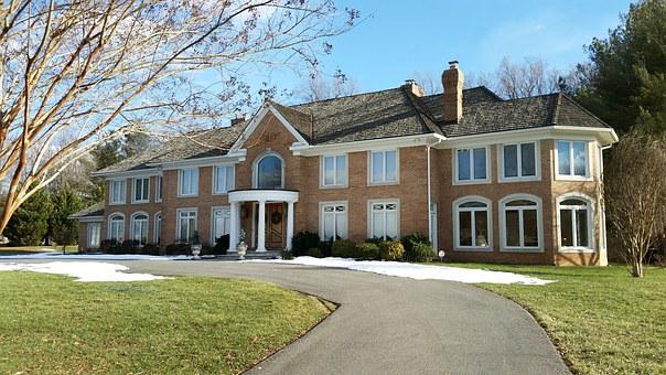 Mansion, House, Bethesda, Maryland, Property