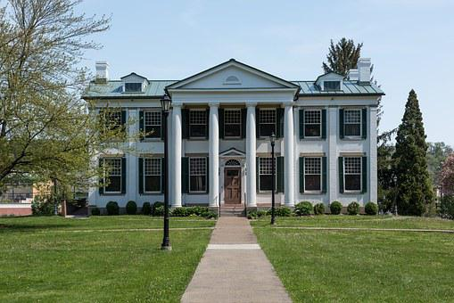 Waldomore Mansion, House, Home, Architecture, Lawn