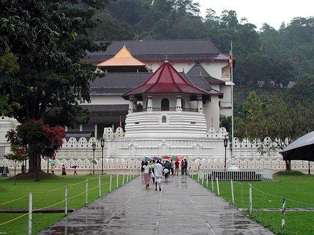 Sri Lanka, Kandy, Temple Of The Tooth, Sacred
