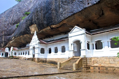 Dambulla, Sri Lanka, Temple, Rock, Buddha, Landmark