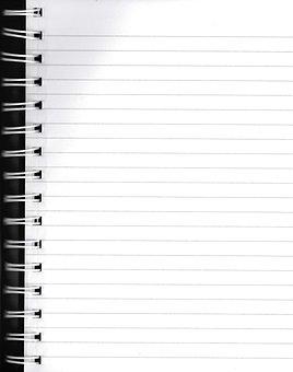 Binder, Lined Paper, Binder Book
