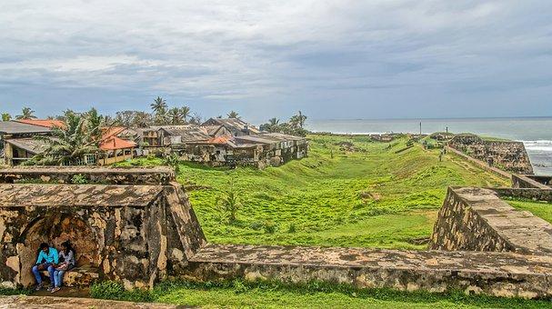 Sri Lanka, Fortress, Old, Bile, Hdr, Masonry, Building