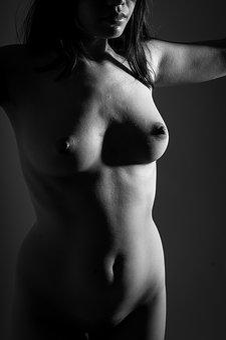 Nude, Female, Beauty, Body, Erotic, Young, Model