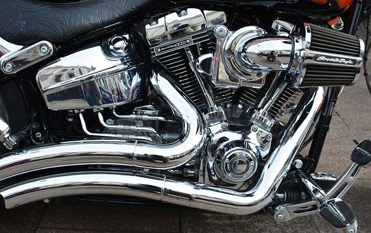 Engine, Motorbike, Motorcycle, Bike, Motor, Vehicle