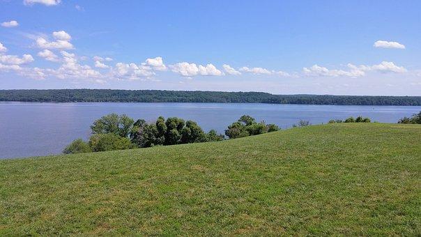 Mount Vernon, Washington, View, Landscape, President