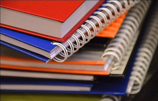 Write, Ring Binder, Notepad, Block, Office