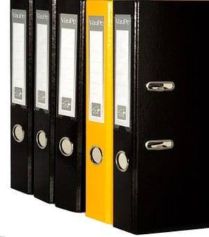 Folder Of Files, Binders, Office, The Order Of The