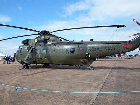 Seaking, Royal Navy, Helicopter, Chopper, Rotor
