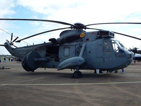 Seaking, Royal Navy, Helicopter, Fleet Air Arm, Chopper