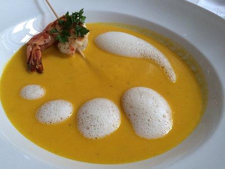 Soup, Shrimp, Warm Starters