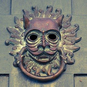 Door Knocker, South Carolina, Charleston, South, Brass