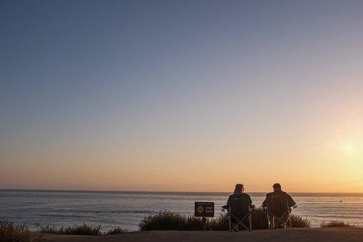 Sunset, Soul Mates, Beach, View, Anniversary