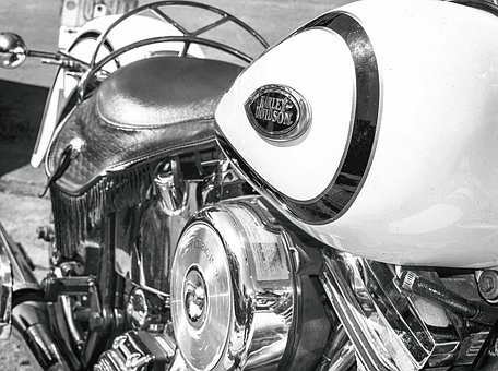 Harley, Motorcycle, Motor, Transport, Engine