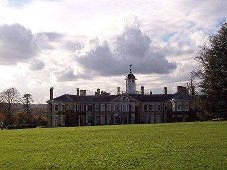 Polesden Lacey, National Trust, Surrey, Uk, Mansion