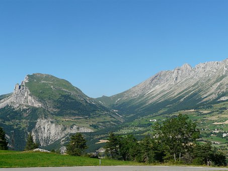 Alps, Valley Of The Wolves, Nature, Mountain