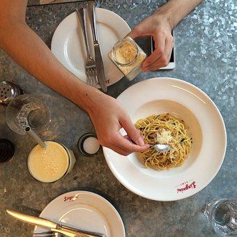 Al Rio All Rio, Pasta, Food, Sparc, Eat, Oil Spaghetti
