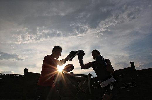 Sport, Box, Training, Boxing Match