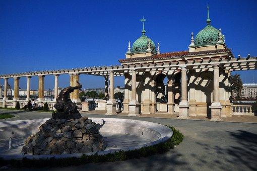 Architecture, Castle Garden Bazaar, Budapest