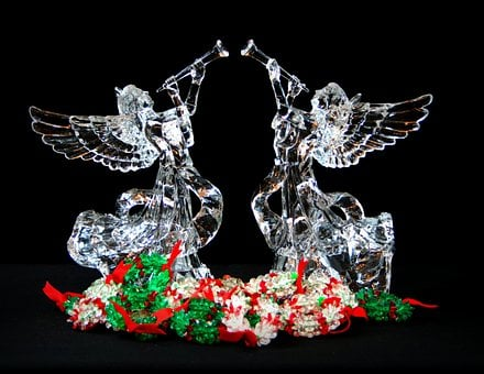 Christmas Angels, Holiday Decorations, Tree Toppers